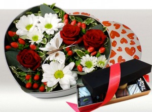 bouquets chocolats